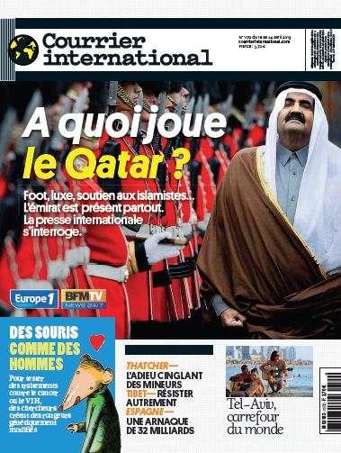 Courrier International N°1172 du 18 au 24 avril 2013