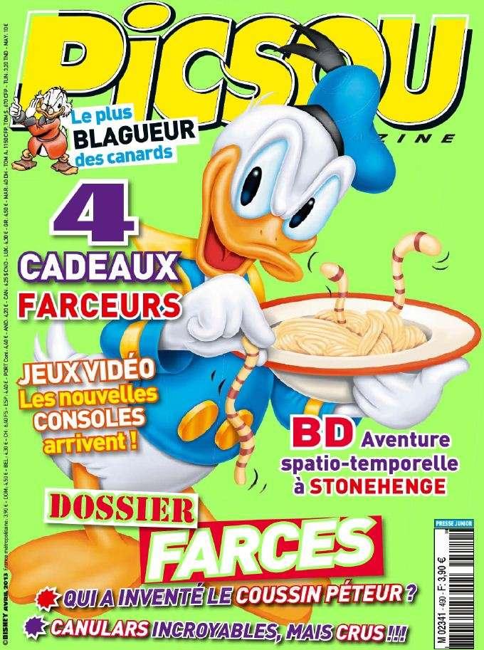 Picsou Magazine N°490 Avril 2013