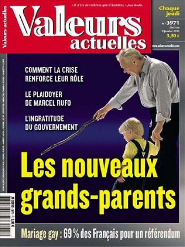 Valeurs Actuelles N°3971 du 03 au 09 Janvier 2013
