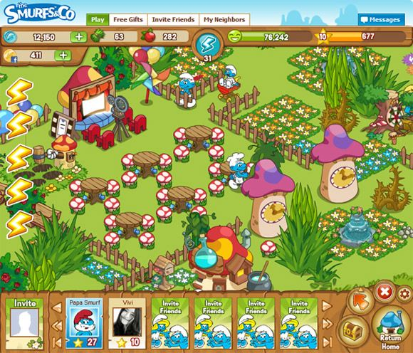 thesmurfs019198429 The Smurfs & Co   New Social Network Game