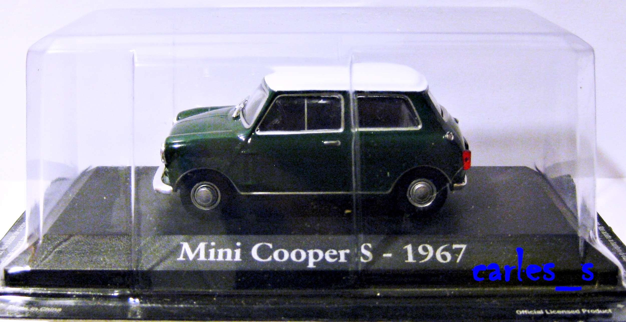 Mini Cooper s 1967 1 43 IXO RBA Coches Clasicos Inolvidables  eBay