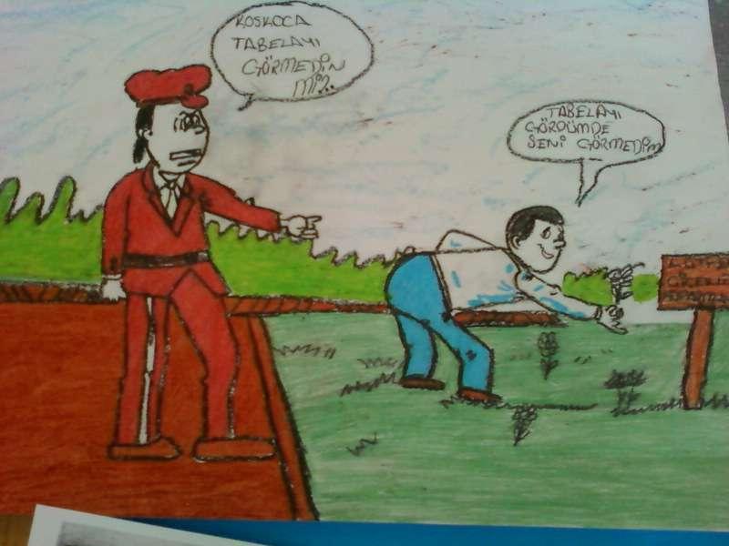 Bölücek Ilköğretim Karikatürler