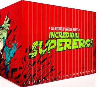 Incredibili Supereroi - Collezione Completa (2008) 20 DVD9 - ITA Copia 1:1