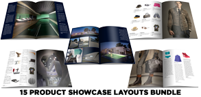 Catwalk Magazine Indesign Template