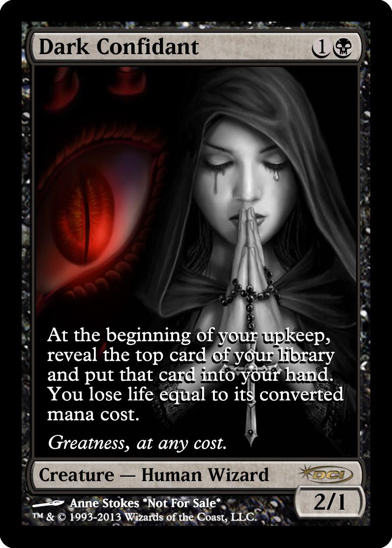 cards full dark magic ...