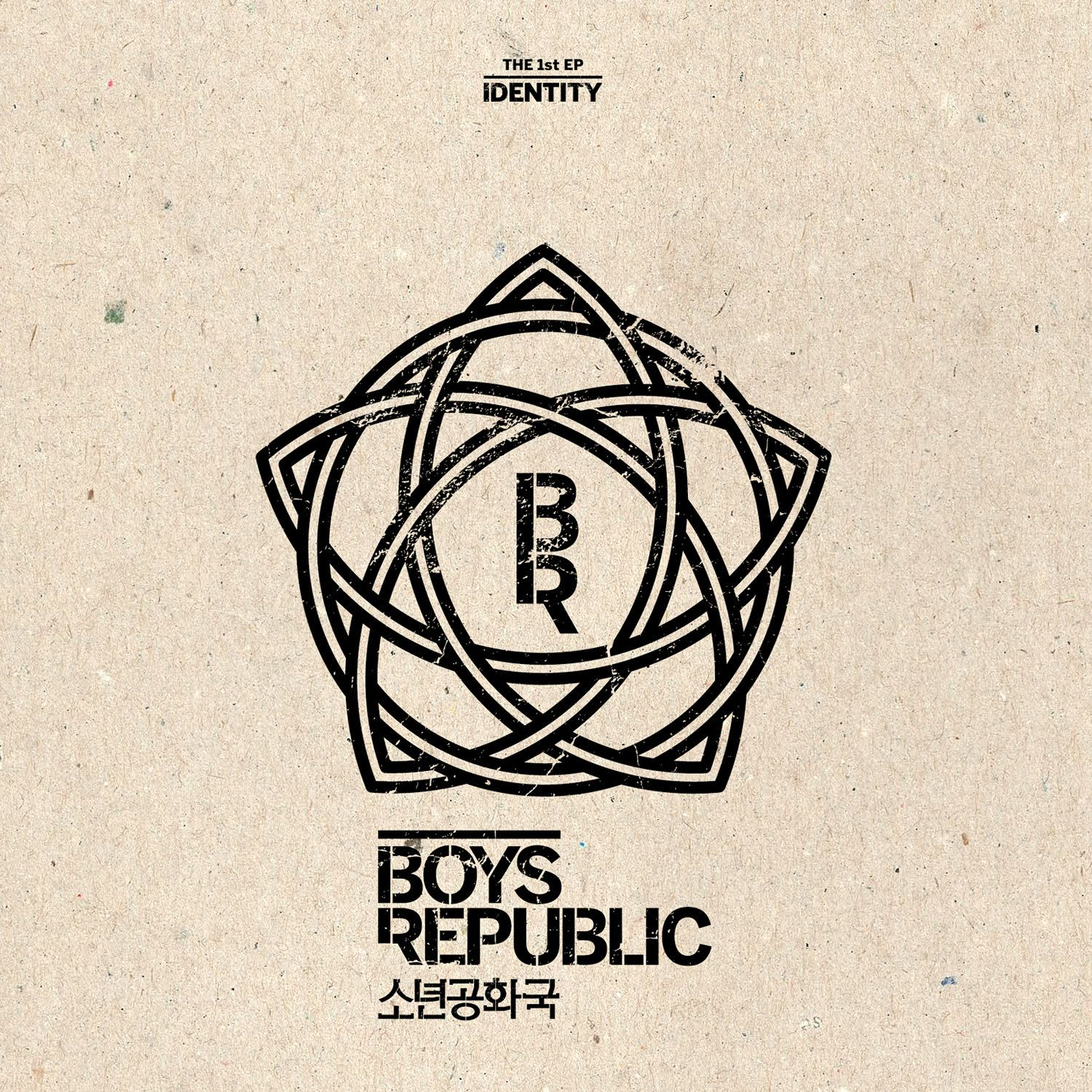 (Mini Album) Boys Republic - Identity (1st Mini Album)