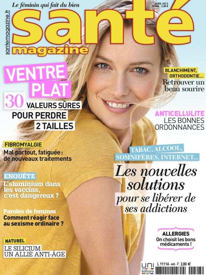 Santé Magazine N°448 Avril 2013