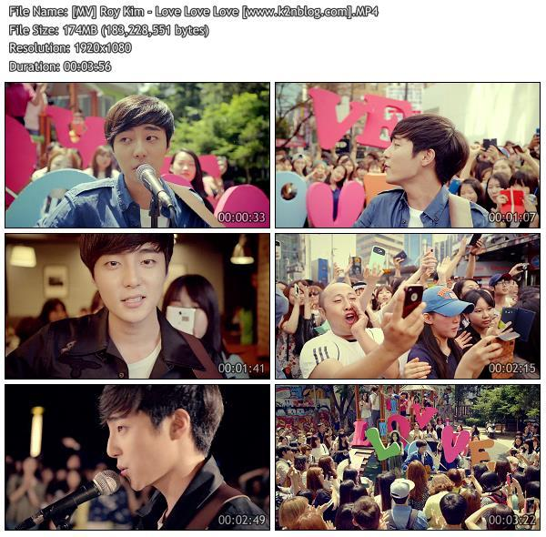 [MV] Roy Kim - Love Love Love [HD 1080p Youtube]